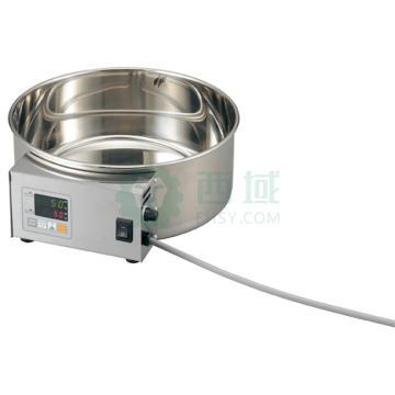 亚速旺 大型恒温水槽,控温范围:室温+5~80℃,槽内尺寸:φ300×120mm,BWB-300,3-1480-01