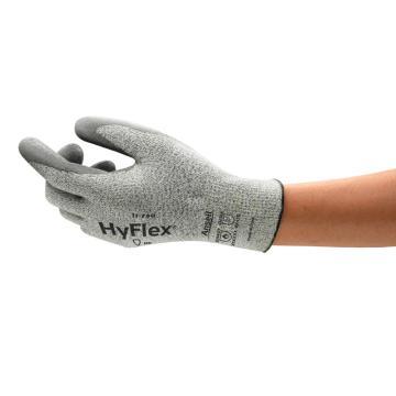 安思尔Ansell D级防割手套,11-730-9,HyFlex 掌部PU涂层