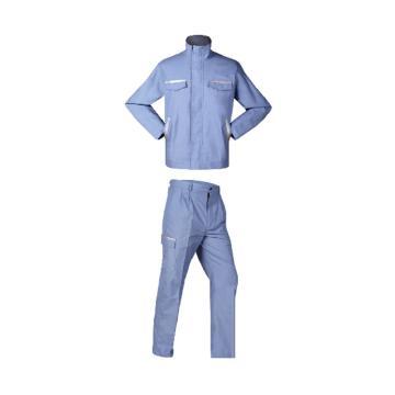 锦禾 1级防电弧套装,8卡,浅蓝色,E1J1501+E1K1502-S