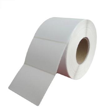邺码科 铜版纸不干胶,白色,70MM*60MM*2350张,打印方式:热转印;材质:卷芯:75mm