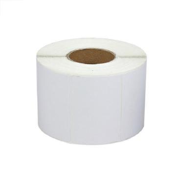 邺码科 铜版纸不干胶,白色,90MM*70MM*2800张,打印方式:热转印;材质:卷芯:75mm