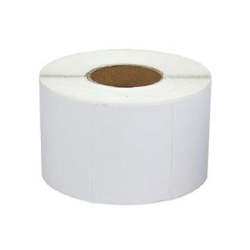 邺码科 铜版纸不干胶,白色,90MM*80MM*2350张,打印方式:热转印;材质:卷芯:75mm