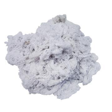 JIAXU 全棉手工手拆白回丝白棉纱,25kg/包 白色 单位:包
