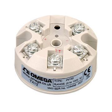 OMEGA RTD顶部安装温度变送器,RTD变送器(100Ω,Pt0.00385) TX12