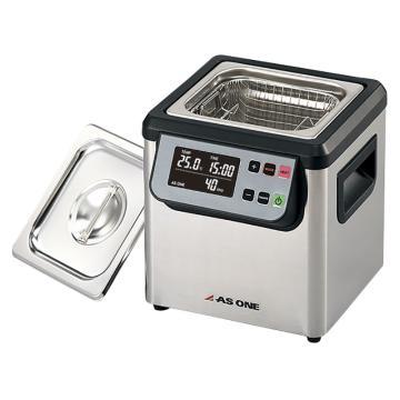 亚速旺 超声波清洗器(单频),槽内尺寸:150×140×100mm,槽容量约2L,MCS-2,3-6746-01