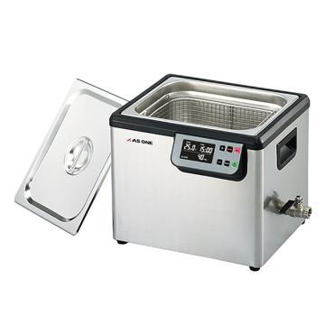 亚速旺 超声波清洗器(单频),槽内尺寸:300×240×150mm,槽容量约10L,MCS-10,3-6746-04