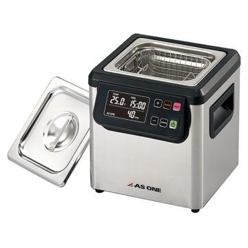亚速旺 超声波清洗器(双频),槽内尺寸:150×140×100mm,槽容量约2L,MCD-2,3-6747-01