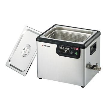 亚速旺 超声波清洗器(双频),槽内尺寸:300×240×150mm,槽容量约10L,MCD-10,3-6747-04