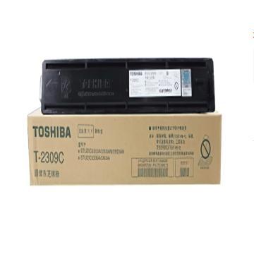 东芝(TOSHIBA)原装碳粉,(墨粉)T-2309C(适用于e-STUDIO2303A/2303AM/2803AM) 单位:个