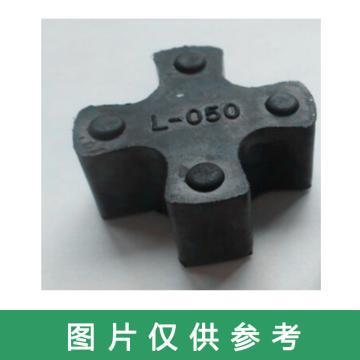 L050四角梅花垫 联轴胶,直径27,厚度11