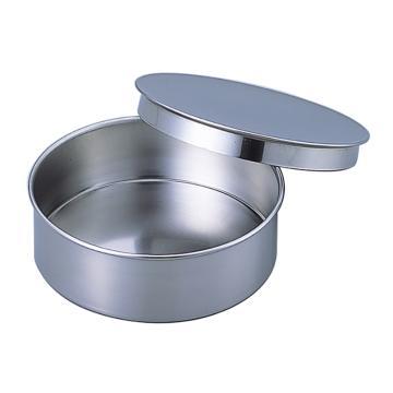 亚速旺 经济型不锈钢筛子,φ200×60 盖子·承接器 (1个),5-3293-55