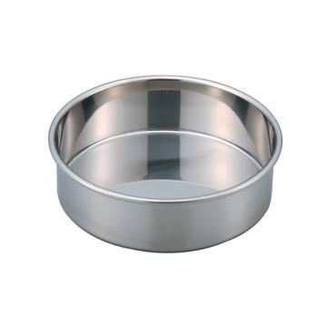 亚速旺 经济型不锈钢筛子,φ200×45 仅承接器 (1个),5-3291-57