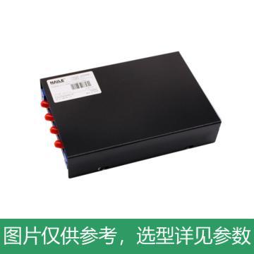 海乐Haile 4口光纤终端盒 4芯ST满配 光纤盒 光缆尾纤熔接盒 光纤配线架,P1-4-ST