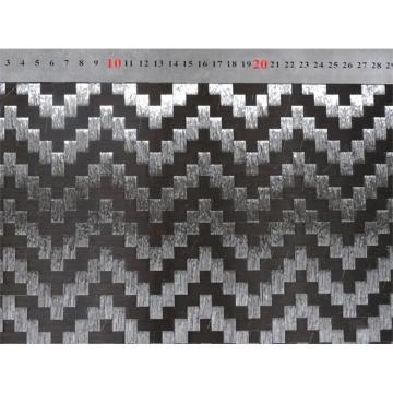 航宸 超声波展宽高强度低损耗碳纤维斜/花纹编织布 HC-12-200T/W/S/L/C-M 纱宽16/18/20mm ,平方米