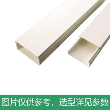 凯士士KSS 迷你型绝缘配线槽,UD-1809WE,白色