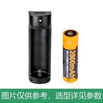 Fenix 迷你智能充电器ARE-X1 套装 USB充电 含1节18650电池ARB-L18-2600,单位:个