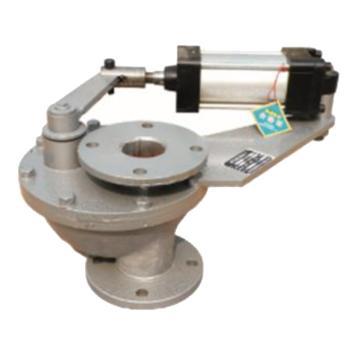 郑州鼎盛 摆动式陶瓷平衡阀,BZ643TC ,DN100