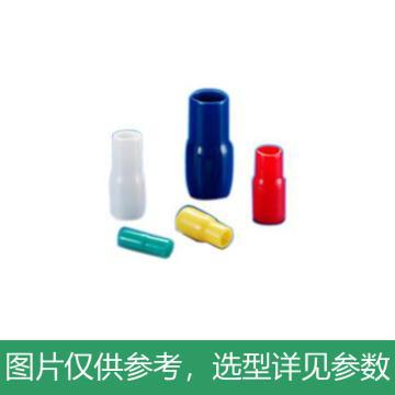 凯士士KSS 绝缘套管,V-1.25WE 适用1.25mm2端子 白,100个/包