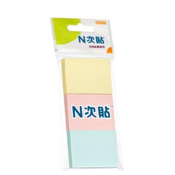"""N次贴 组合型便条纸,320171.5""""×2"""" 单位:包"""