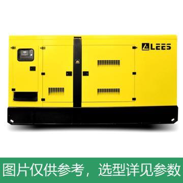 能电LEES 柴油发电机组,主用功率80kW,备用功率88kW,三相230/400V,开架款,LSY110S3-开架款