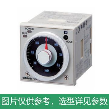 欧姆龙OMRON 时间继电器,H3CR-A AC24-48V/DC12-48V