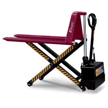 虎力 电动剪式升高液压搬运车,载重(T):1 货叉尺寸520*1140mm 高度85-800mm,JE5210
