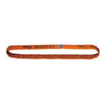 多来劲 圆吊带,圆形吊装带 10T×4m 橙色 ,0514 8012 04