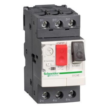 施耐德Schneider 电机保护断路器,GV2ME06C,热磁型