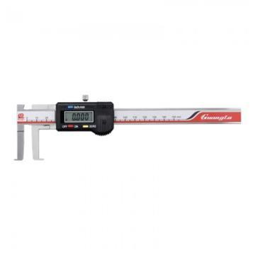 广陆 公英制刀头内沟槽数显卡尺,8-150*40,115-111-3