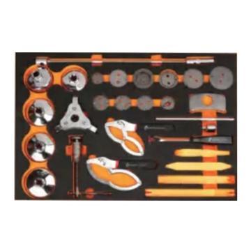 钢盾 26件综合工具托组套,S025051