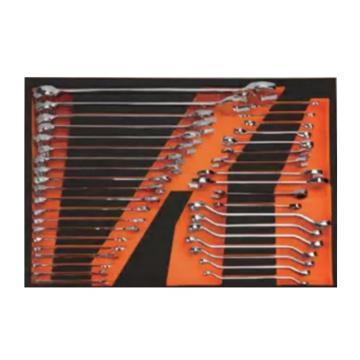 钢盾 33件扳手工具托组套,S025045