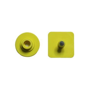 蓝创 方形仔猪耳标10#+7#,免费定制,可选颜色:黄、橙、红、蓝、绿、白、粉