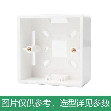 正泰CHINT 86型塑料明盒,NEH1-201