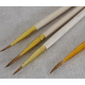 木质 毛笔,7#