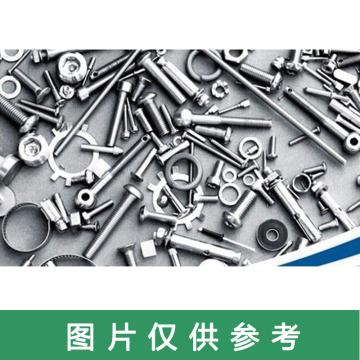 西域推荐 六角螺栓,M8*160,牙距1.25(标准),六角螺栓,4.8级碳钢,发黑,半牙 带螺母