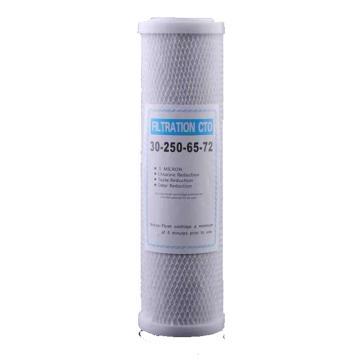 比丽尔 10寸压缩活性碳,净水第三级过滤 1个/袋 单位:袋