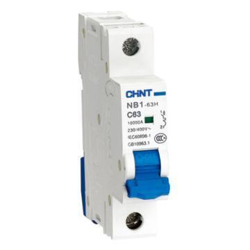 正泰CHNT 微型断路器 NB1-63 3P 6A C型 环保外壳