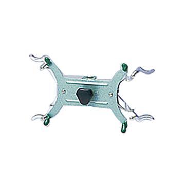 亚速旺(ASONE)磁制滴定管架用配件 部件2个架用夹(米式)(1个),6-255-05
