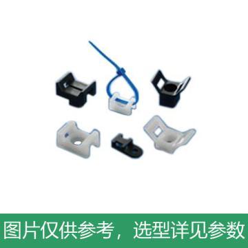 凯士士KSS 扎线固定座,线宽5.2,固定孔3.7, HC-0,100个/包