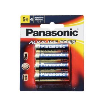 松下 5号碱性电池,5号、4粒装LR6BCH/4B单位:卡