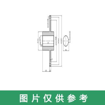 西域推荐 电机连接盘,工业款,YOXVAZ560配套