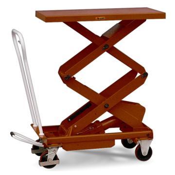 虎力 双剪重型脚踏式液压升降平台车,载重(kg):500 起升范围(mm):440~1575,BS50D