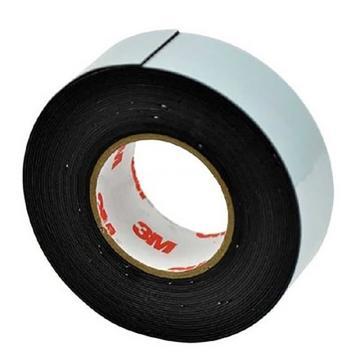 3M 电工防水自黏胶带,M自粘性橡胶绝缘胶带 J20耐高温电气高压变压器电工防水胶布