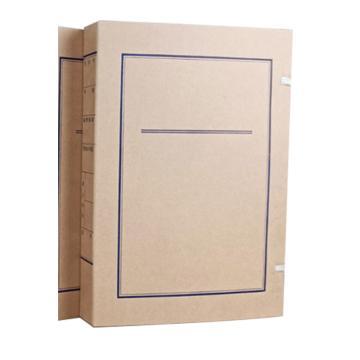 立发 加厚档案盒,230*320*62mm订制