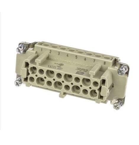 浩亭 重载连接器,16针母芯,09330162701
