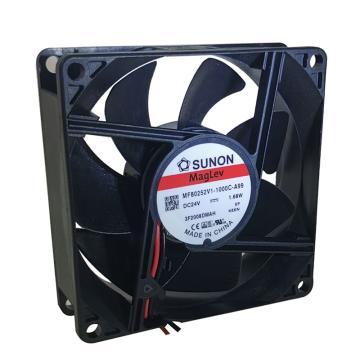 建准 方形直流风扇,MF80252V1-1000C-A99,DC24V
