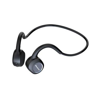 纽曼骨传导蓝牙耳机,GE05 黑色 运动跑步骑行无线感MP3 自带内存 一体式双耳挂脖式挂耳式 防水防汗