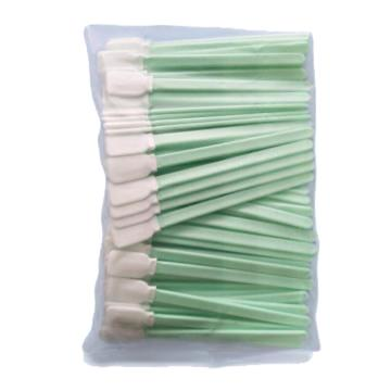 无尘擦试棉棒,棉签,经无尘清洗达100级,25mm*14mm(头长*宽),杆长125mm,100支/包,50包/箱