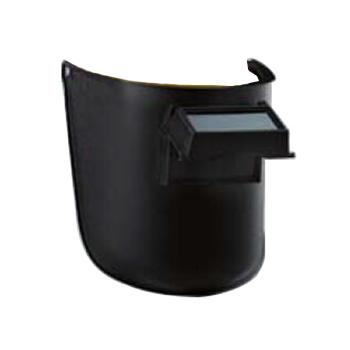 蓝鹰 焊接面罩,6PA3,头戴式 搭配安全帽使用焊接面罩 含镜片内槽为铝制