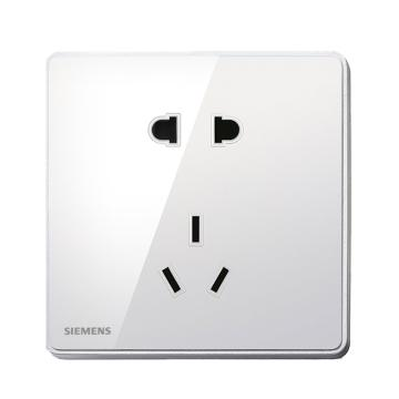 西门子SIEMENS 10A 二三极插座,5UB81143NC02